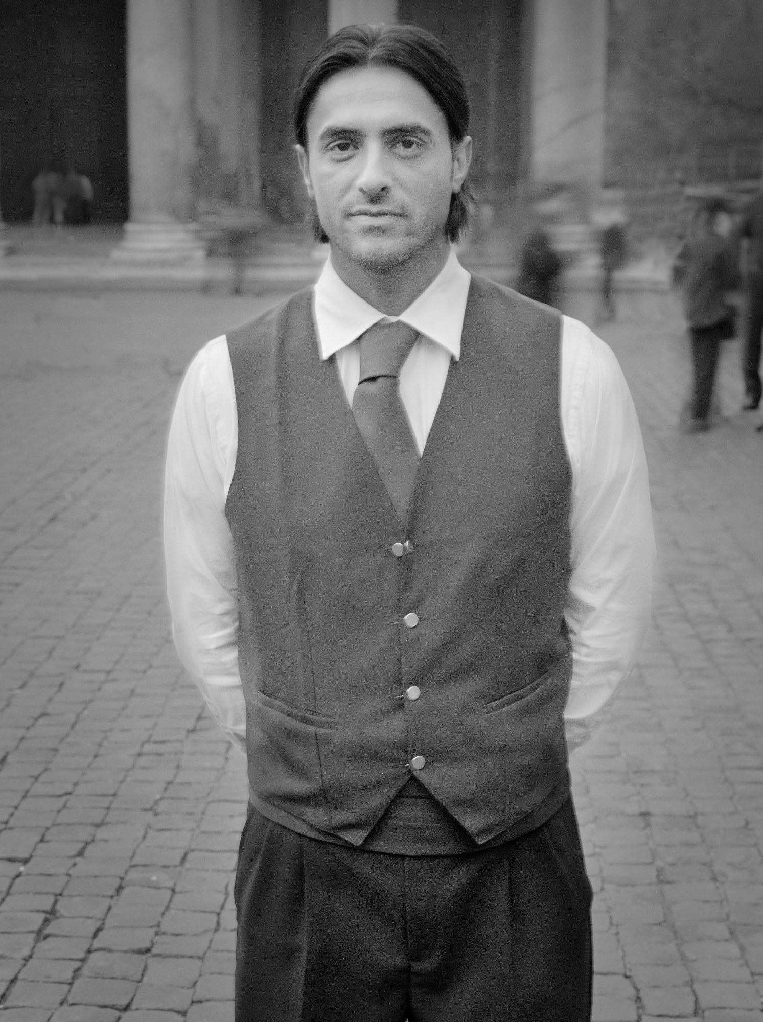 Waiter, Piazza della Rotunda, Roma