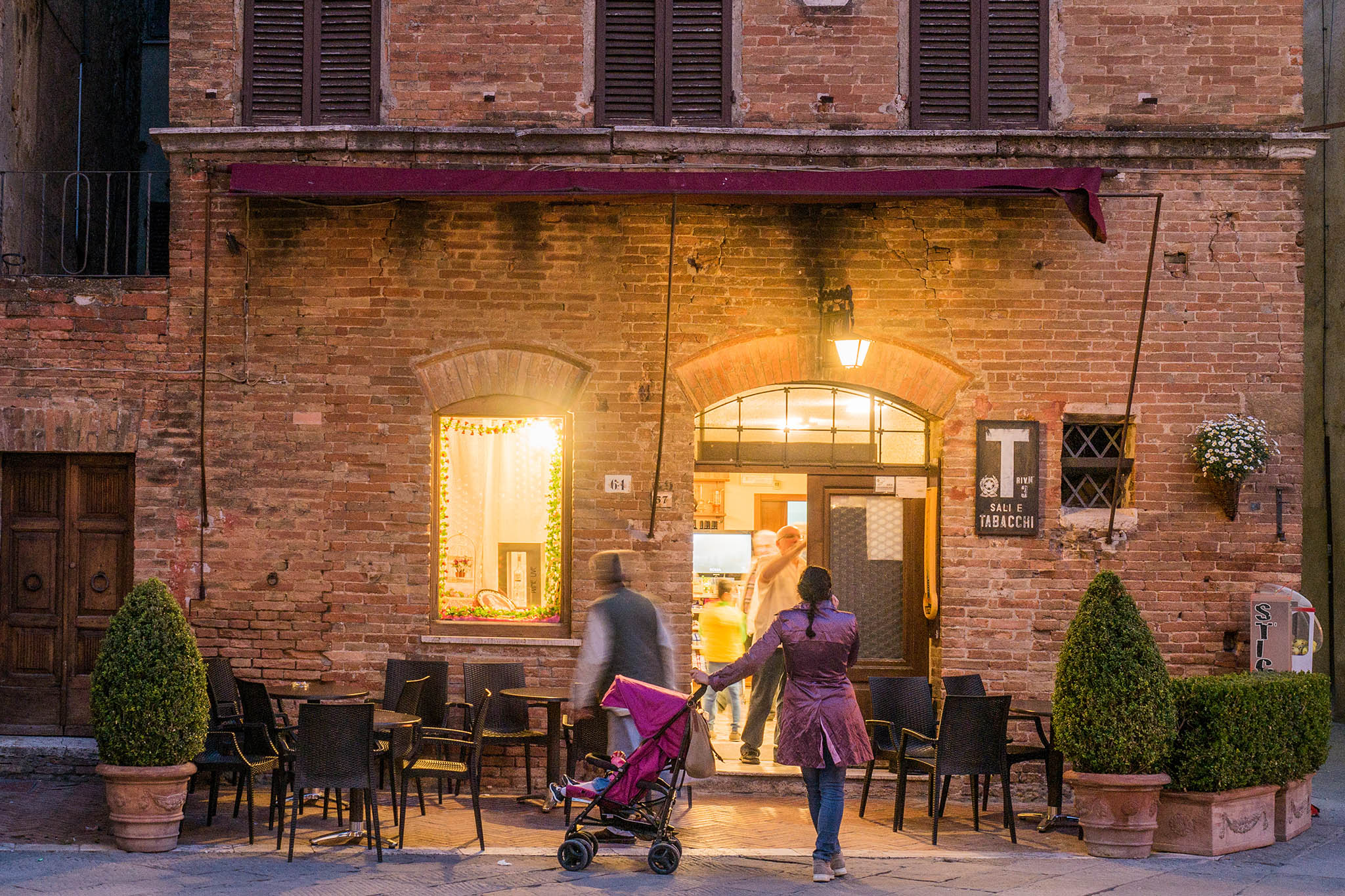 Bar, Pienza, Toscana