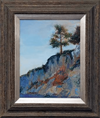 California Coast - Sold, Oil 11x14