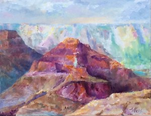 Grand Canyon, $400, Oil, 16x20