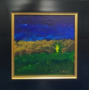 Stravinsky -Rite of Spring, $250 12x12, Oil