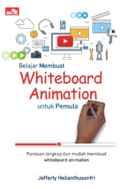 cover buku Whiteboard Animation Untuk Pemula