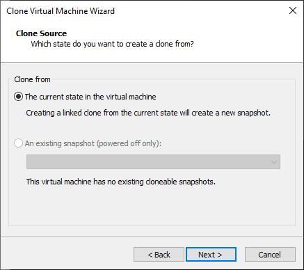 Clonando uma máquina Virtual no VMware Workstation – Linked Clone