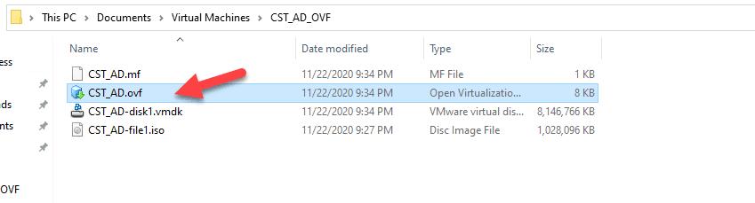 Executando um Template .ovf no VMware
