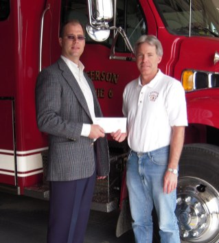 2008 Flood Recovery Fund (Fire Department Water Rescue Equipment) -- Dr. David Volk, Ron Wegner