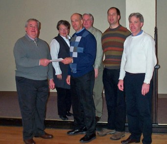 Rainbow Hospice -- Chuck Frandson, Barb Mayhew, Andy Didion, Steve Cross, Dr. David Volk, Ron Wegner