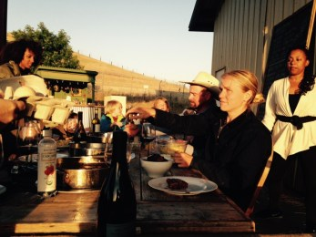 Fairfield, California, Napa Grass Farmer, Jefferson Center for Holistic Management one-day workshop, wine tasting and dinner