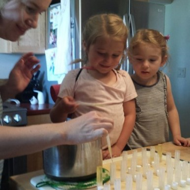 homemade lip balm, organic, kid activities, Jefferson Center for Holistic Management