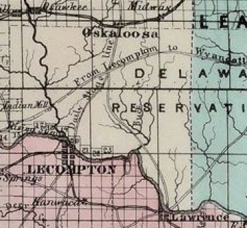 Mitchell map Kansas Memory Item 305777