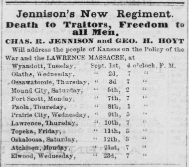 Hoyt and Jennison dates The_Leavenworth_Times_Sat__Sep_5__1863_