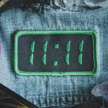 11:11 Synchronicity Patch - Metaphysical Fashion Accessory