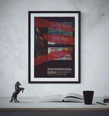 Parachute Journalists Poster