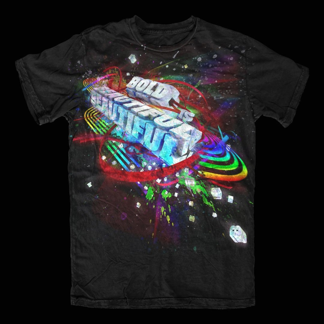 Bold is Beautiful – T-Shirt Design