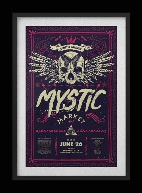 South Austin Mystic Market Poster