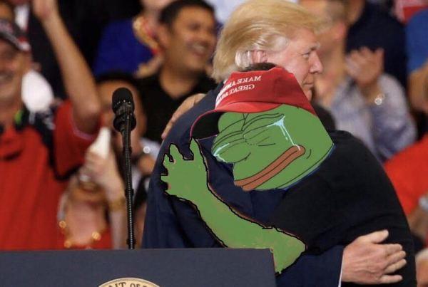 Donald Trump Pepe Tears