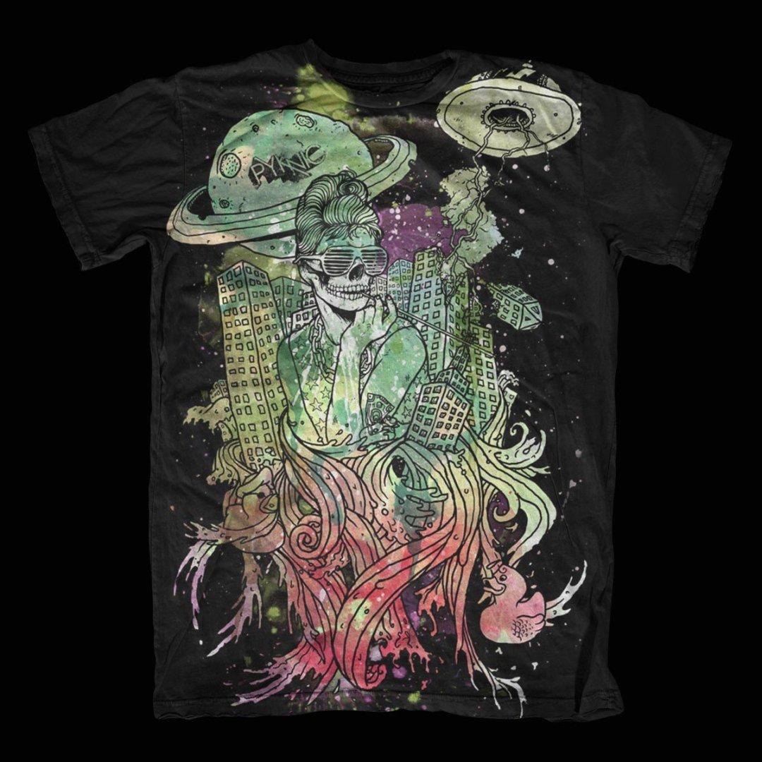 Pyknic – Tawdry Hepburn T-Shirt Design