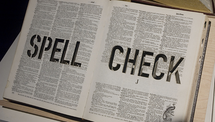 Spell Check by Michael Mandiberg