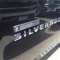 Black 2014 Carolina Black Edition Silverado