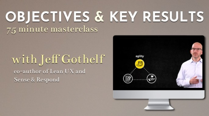 Objectives & Key Results self-paced video course now available. Click to learn more.