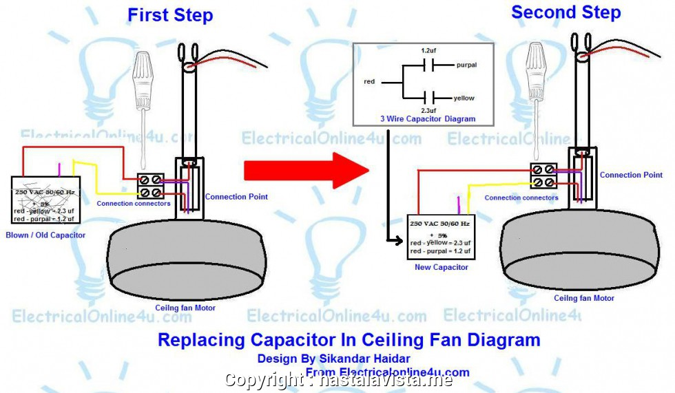 How To Connect Capacitor To Fan