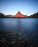 Sinopah Mountain over Two Medicine Lake