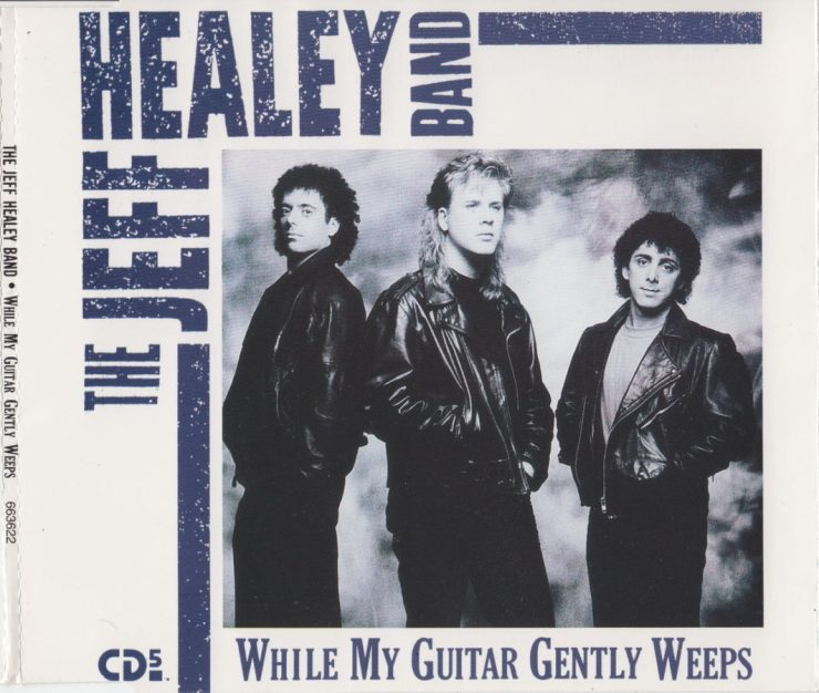 While My Guitar Gently Weeps - CD single - front