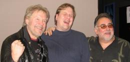 Jeff, Randy Bachman & Duke Robillard having a laugh @ Healey's Roadhouse