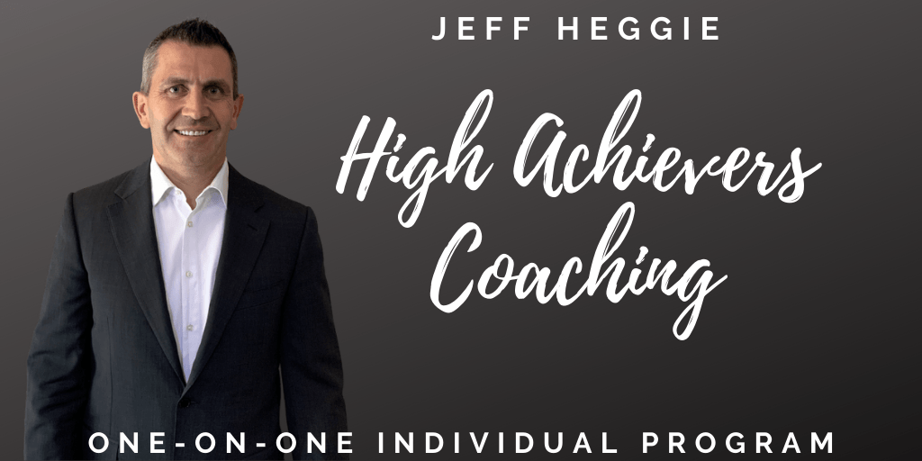 High Achievers 1-on-1 coaching