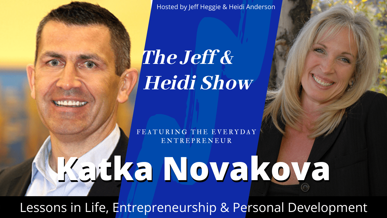 Dr Katka Novakova Naturpathic Doctor with Jeff Heggie and Heidi Anderson Podcast