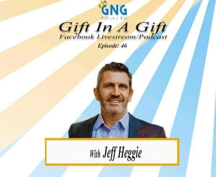 Jeff Heggie on the Gift In A Gift Podcast with Chaz Jackson