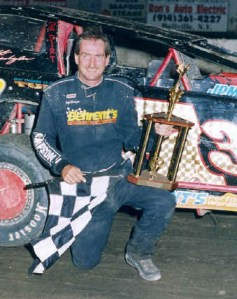 """""""The Jeffer"""" in victory lane at OCFS."""