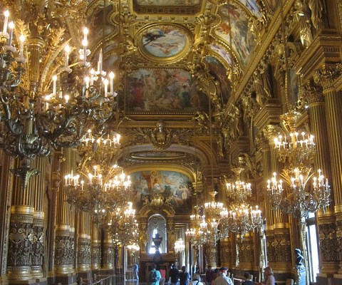 Day 16 in Paris: Opera Garnier