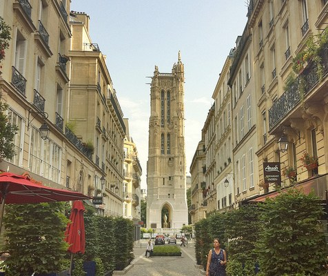 Paris, Day 5: Tour Saint Jacques