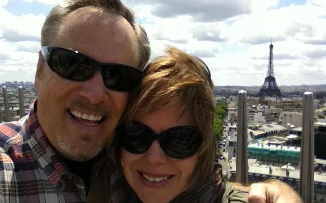 Day 2 in Paris: Atop the Arc du Triomphe