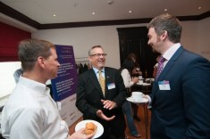 Jeff Hester dialog during a break at a KM conference in Moscow
