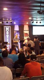 Jeff Hoglen at Church at the Creek - At the Movies series