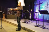 Pastor Jeff Hoglen at Church at the Creek