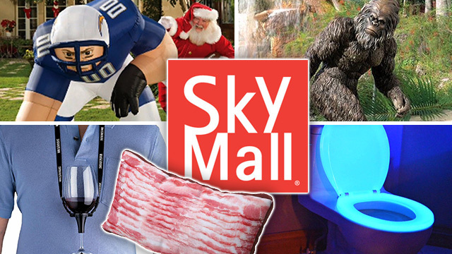 The latest airline tragedy: Skymall has crashed
