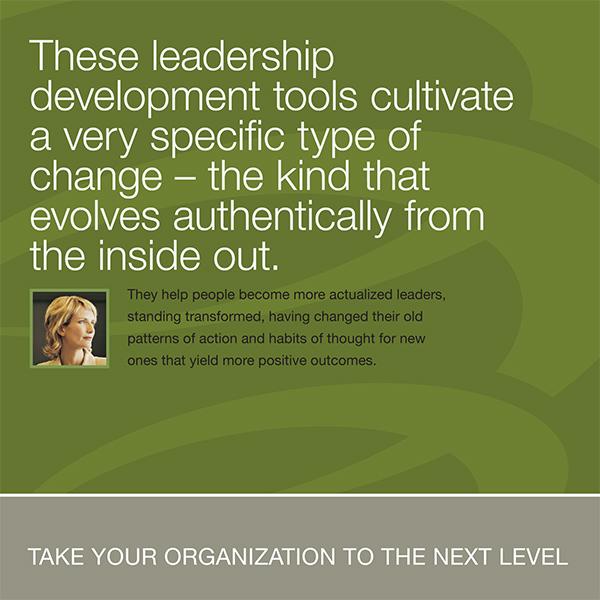 The Leadership Circle Brochure Design