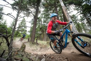 KBRA member rides trails in Kamloops, B.C.