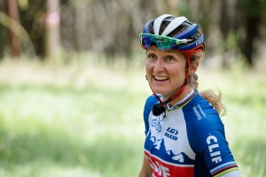 Headshot of mountain biker Catharine Pendrel