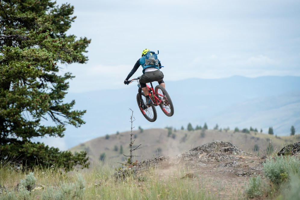 landscape, biking, mountain biking, jump, Canada