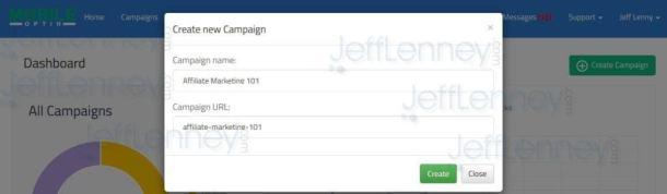 mobile optin 2.0 campaign name