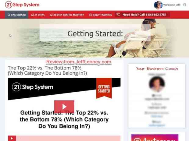 Mobe Review - 21 Step System