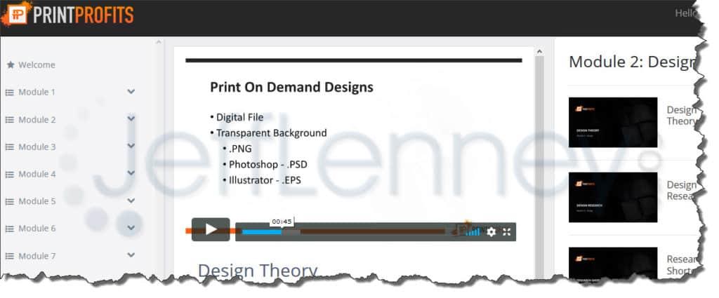 Print Profits 2.0 Review & Walkthrough (REAL MEMBER)