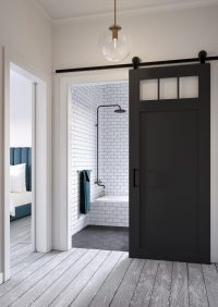 Craftsman Style Barn Door Kit | Jeff Lewis Design