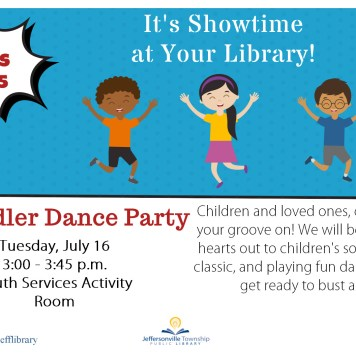 Toddler Dance Party