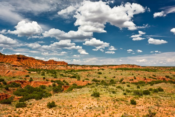 hiking caprock canyons state park