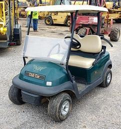 lot 1090 make ingersoll rand model club car [ 1280 x 720 Pixel ]