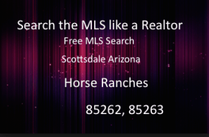 Horse Properties Rio Verde Arizona,85262 Horse Farms